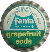 #DC091 - Scarce Fanta Grapefruit Cork Lined Soda Cap