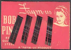 #CS254 - Carded Faym-us Bobby Pins