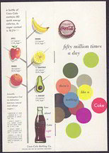 #CC211 - 1951 Coca Cola Carton Insert Booklet About Coca Cola - Fifty Million