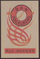 #MUSIC014 - Dan Fogelberg Back Stage Pass
