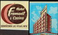 #TM058 - Full Book of  Early Las Vegas Fremont Hotel and Casino Matches