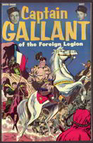 #COMIC015  - Captain Gallant Comic with Buster Crabbe