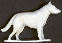 #TY346 - Nicely Detailed German Shepherd Dog Figure