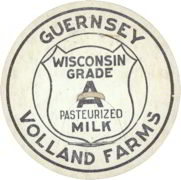 #DC090 - Volland Farms Guernsey Milk Bottle Cap