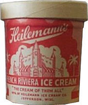 #DA053 - Heilemann's French Riviera Ice Cream Container