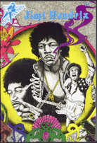 #MUSIC322 - 1990 Jimi Hendrix Comic with Real Autograph from the Comic Writer