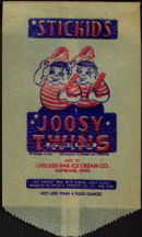 #PC057 - Joosy Twins Water Ice Bag - Great Graphics