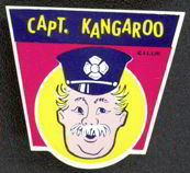 #CH172  - Captain Kangaroo Flashlight Label