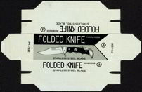 #MS104 - Group of Four Folded Knife Boxes