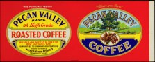 #ZLCA039 - Beautiful Early Pecan Valley Coffee Label