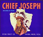 #ZLC075 - Chief Joseph Crate Label