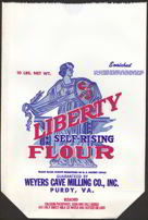 #CS188 - Large Liberty Flour Bag
