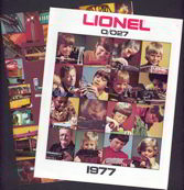 #TY258  - Pair of 1970s Lionel Train Catalogs