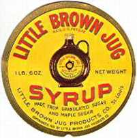 #ZBOT038 - Group of 5 Little Brown Jug Labels