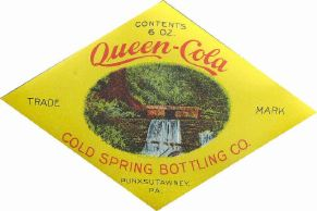 #ZLS054 - Group of 3 Queen Cola Labels
