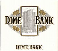 #ZLSC008 - Dime Bank Cigar Box Label