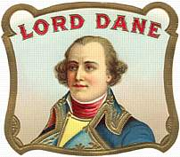 #ZLSC012 - Lord Dane Cigar Box Label