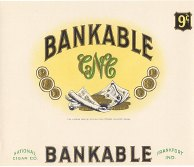 #ZLSC025 - Bankable Inner Cigar Box Label