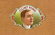 #ZLSC027 - Clint Ford Inner Cigar Box Label