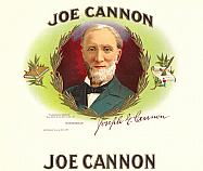 #ZLSC033 - Joe Cannon Inner Cigar Label
