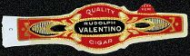 #ZLSC045 - Group of 6 Rudolph Valentino Cigar Bands