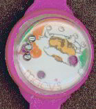 #HH084 - Toy Puzzle Watch marked Macy's and picturing Santa