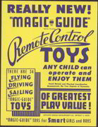 #SIGN055 - Magic-Guide Remote Control Toy Sign