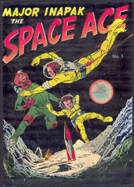 #COMIC039  - 1951 Major Inapak The Space Ace Comic Book