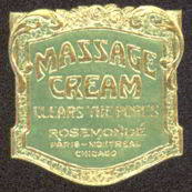 #ZBOT105 - Early Massage Cream Jar Label