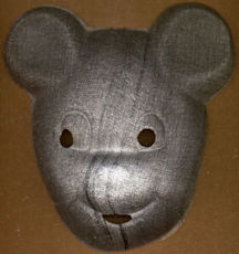#HH161 - Very Old Gauze Mickey Mouse Halloween Mask