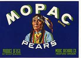 #ZLC008 - Mopac Pears Crate Label