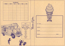 #DA055 - Huge Mr Softee Bookcover