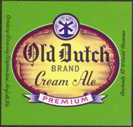 #ZLBE037 - Old Dutch Cream Ale Label