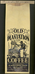 #CS215 - Old Plantation Coffee Bag - Pictures Black Worker