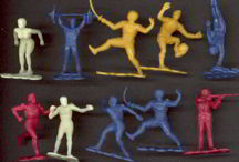 #TY334 - Set of 10 different Olympic Figures