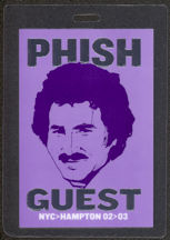 #MUSIC447 - PHISH 2003 Laminated Backstage Pass from the 2003 Hampton Concert - Pictures Mr Kotter from Welcome Back Kotter