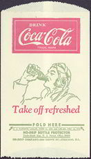 #CC210 - Coca Cola Dry Server with a Pilot Drinking a Coke