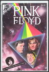 #MUSIC318 - 1989 Pink Floyd Comic with Real Autograph from the Comic Creator