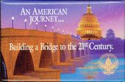 #PL086 - Building a Bridge to the 21st Century Inaugural Pinback