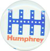 #PL116 - Hubert Humphrey Presidential Candidate Button