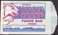 #PC074 - Polar Brand Fudge Bar Bag with Polar Bear