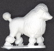 #TY323 - Nicely Detailed Poodle Dog Figure