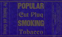 #ZLT020 - Popular Cut Plug Tobacco Wrapper
