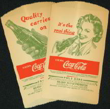 #CC062 - Pair of Uncommon Coca Cola Dry Servers
