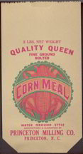 #CS200 - Quality Queen Fine Ground Bolted Corn Meal Bag