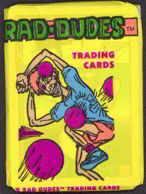 #ZZA080 - Pack of Rad Dudes Trading Cards