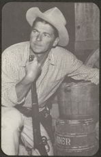 #CH196 - Ronald Reagan Western Postcard From His Acting Days