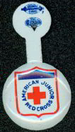 #MS078 - American Junior Red Cross Tin Pinback