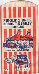#PC014 - Ringling Brothers Peanut Bag