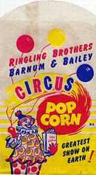 #PC015 - Ringling Brothers Popcorn Bag